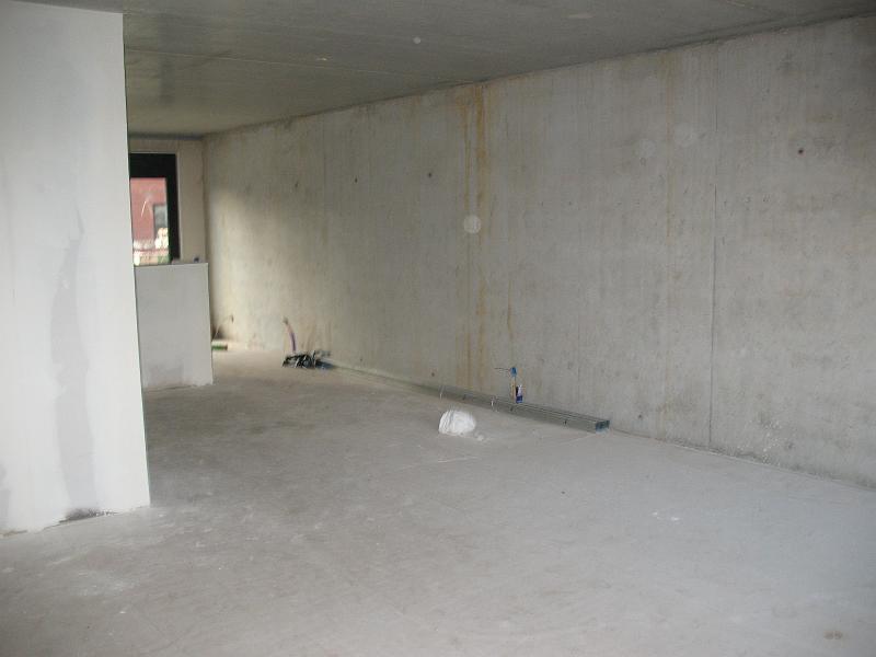 Woonkamer Met Oranje Muur : Lange muur woonkamer
